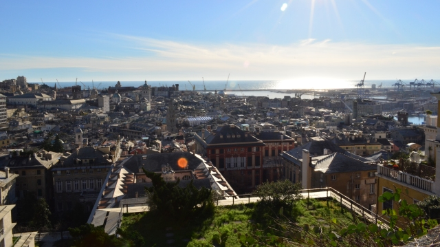 Genoa rooftops