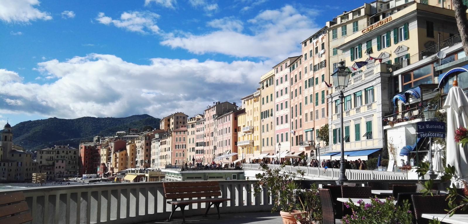 Beyond Portofino: Camogli colored village