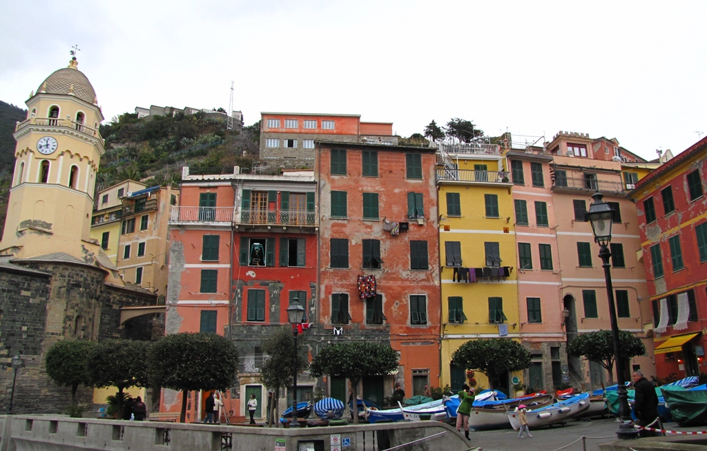 Vernazza is one of the famous Cinque Terre villages