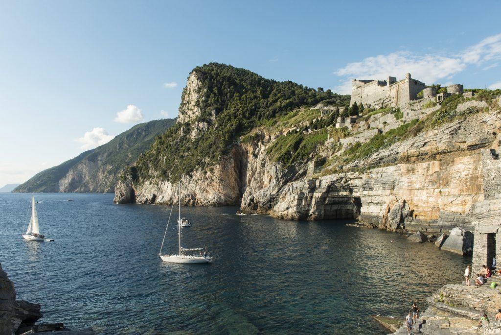 Byron's grotto & Doria Castle