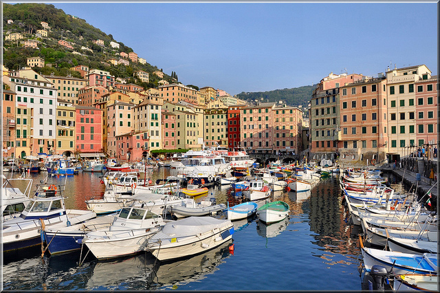 Camogli is not far from Cinque Terre