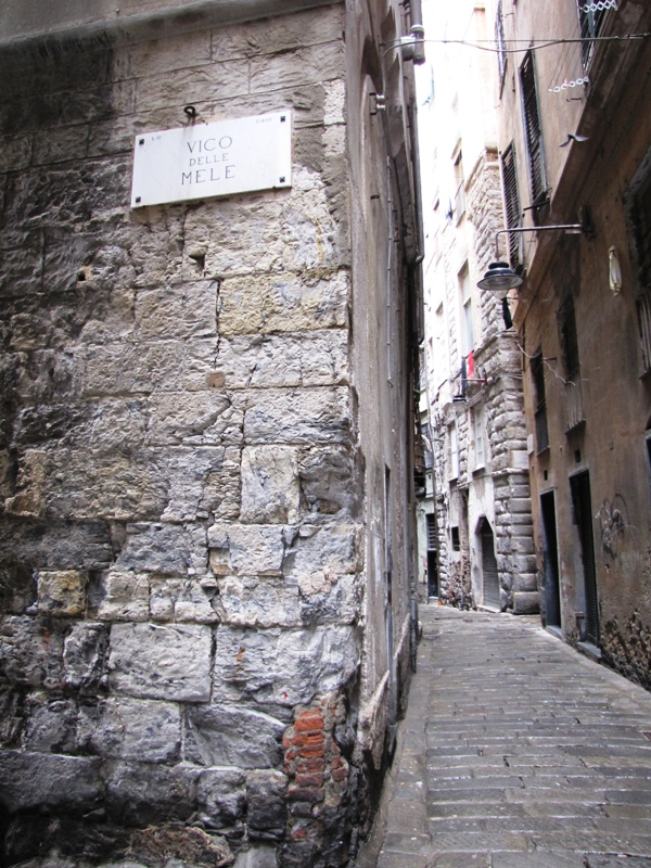 Genoa historical center