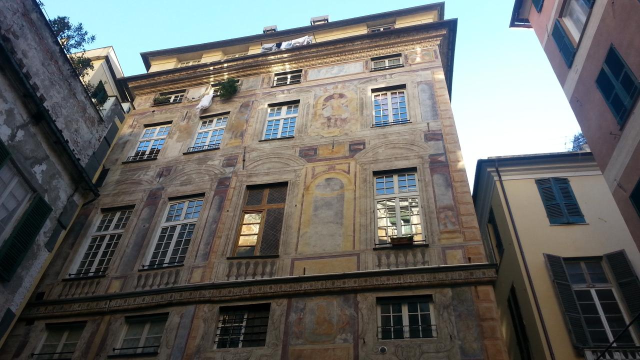 Genoa painted palaces