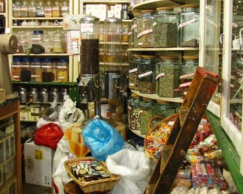 Torielli old shop in Genoa