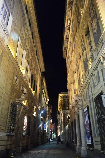Genoa Via Garibaldi
