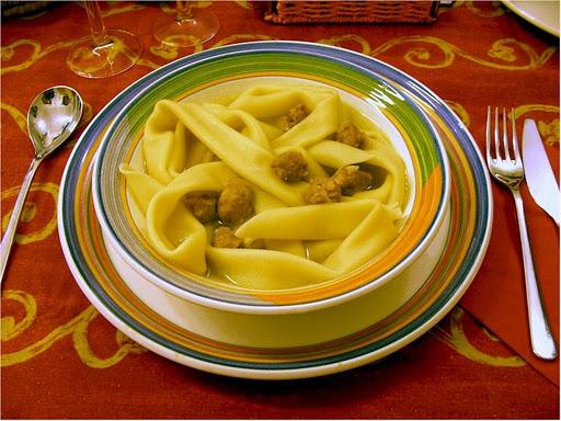 Natalini Christmas recipe in Genoa