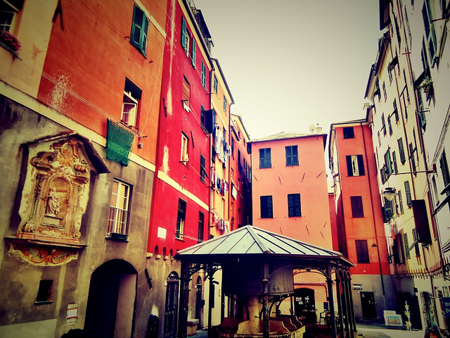 The historical center of Genoa [ph. credits annacovone]