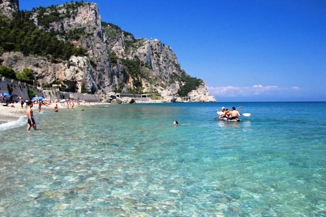 Beaches in the western Liguria