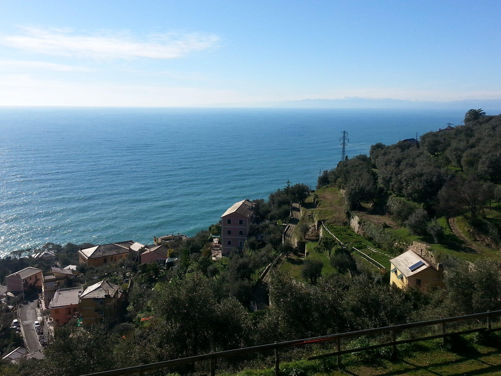 Italian Riviera horizon