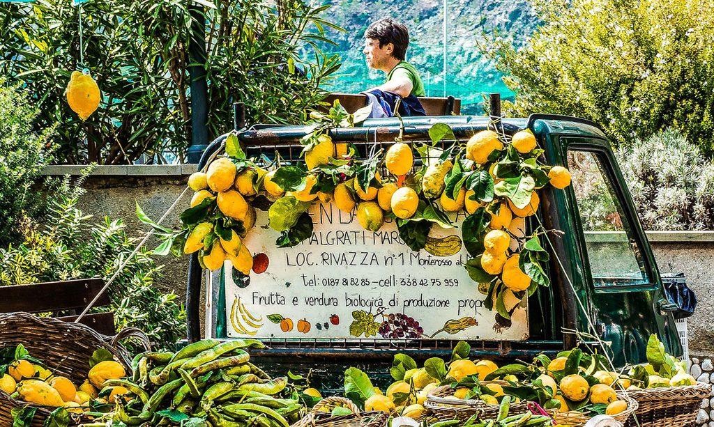 Lemons Cinque Terre food