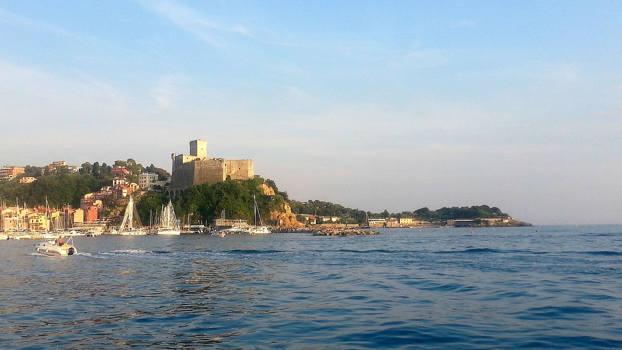 Lerici and its Pisan fortress