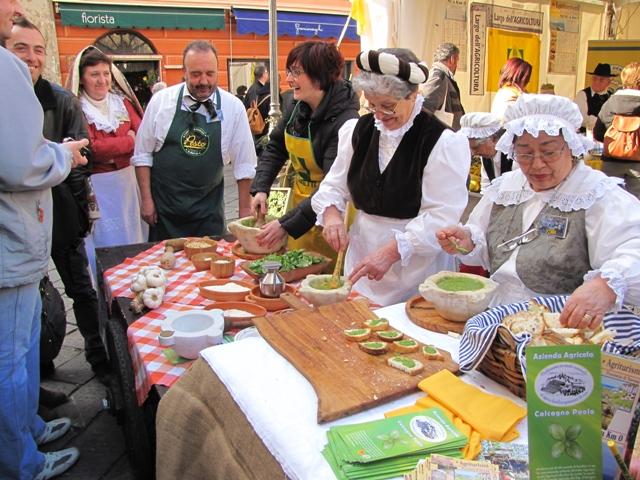 Liguria food events