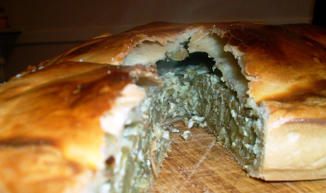traditional vegetable pies from Liguria