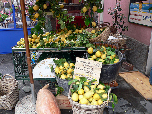 Monterosso lemons by Lee Coursey