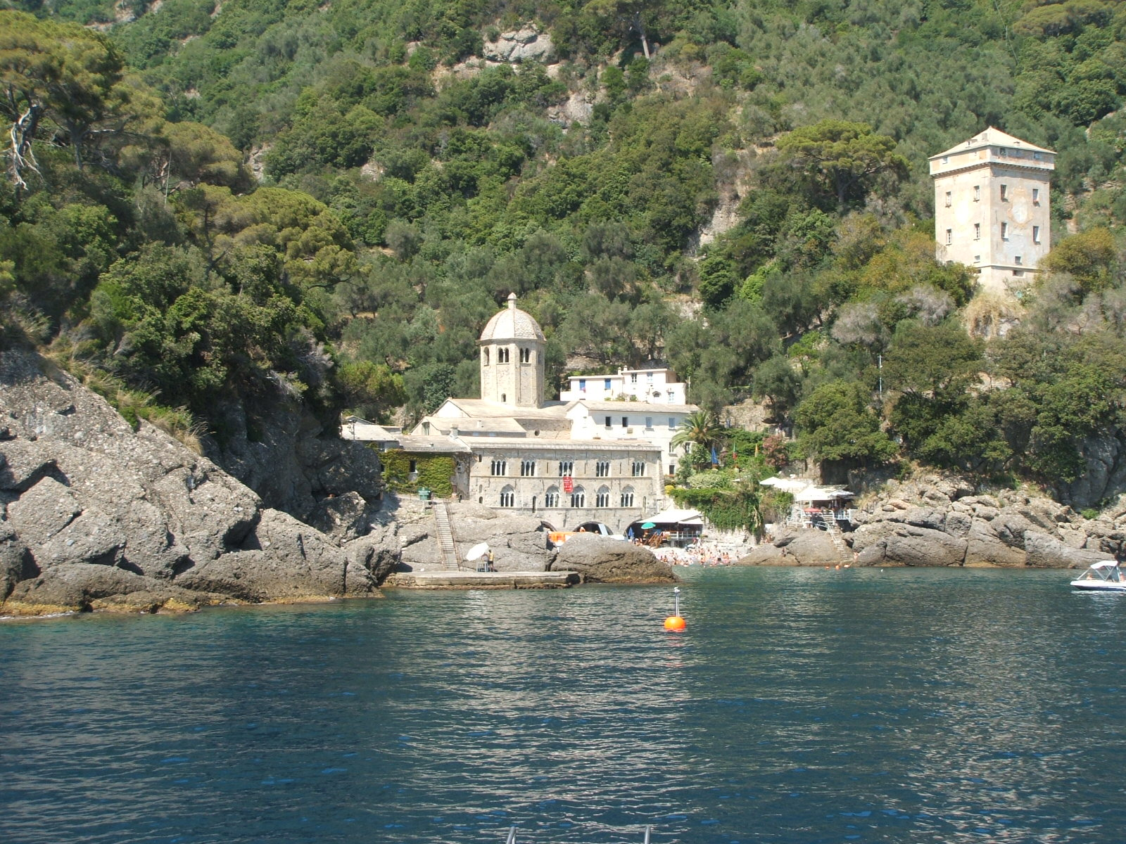 San Fruttuoso Abbey near Portofino