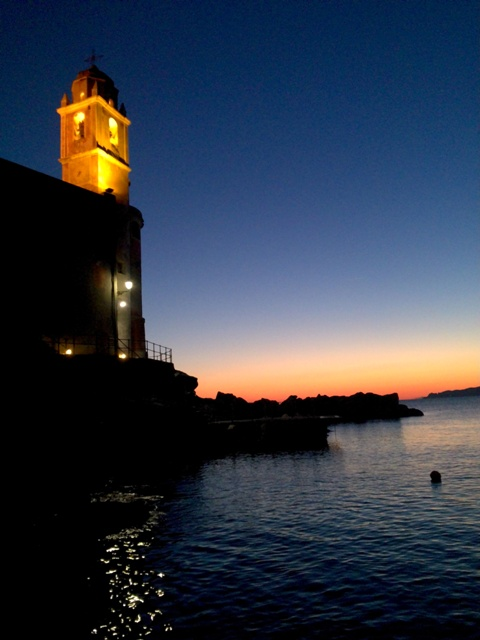 Sunset Church Tellaro
