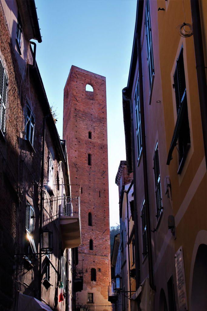 House Tower in Noli Liguria