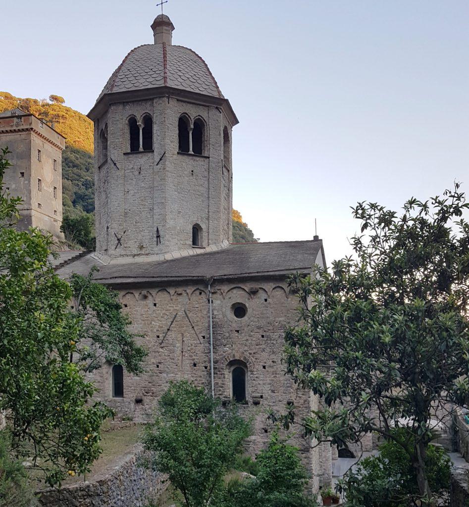 San Fruttuoso, the Church