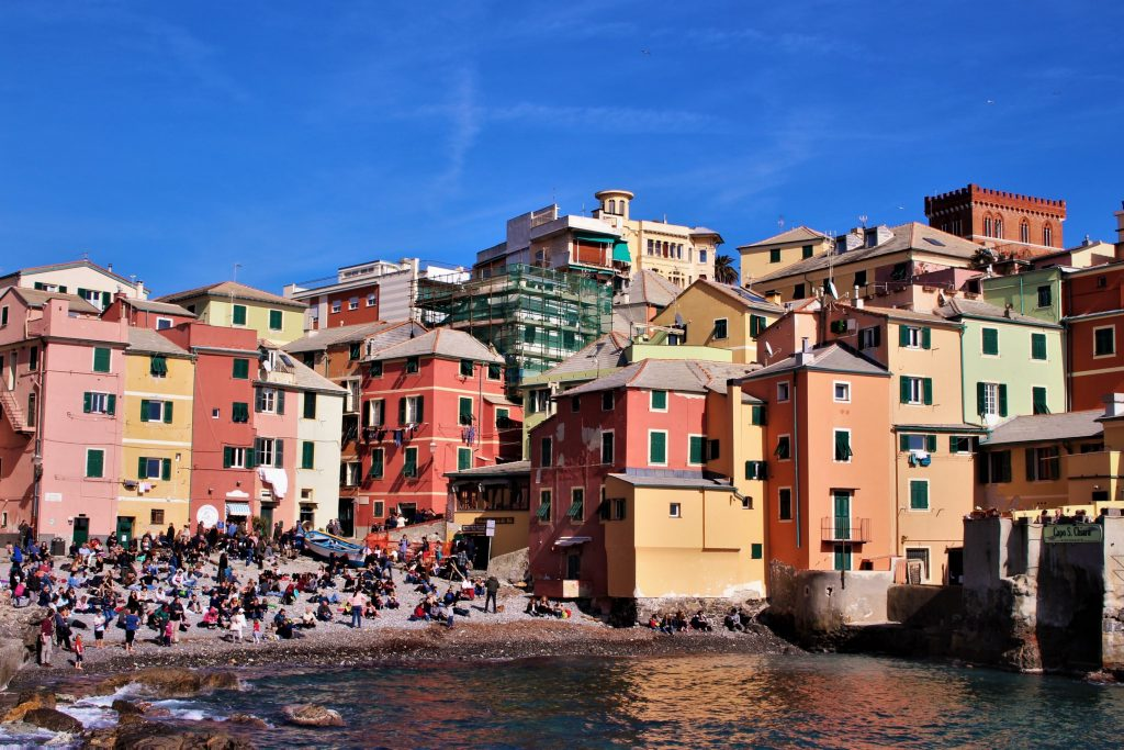 A view of Boccadasse Genoa