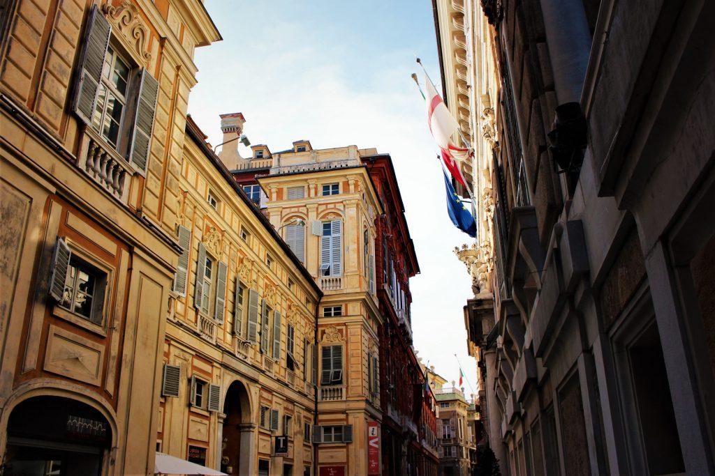 Via Garibaldi Strada Nuova Genoa