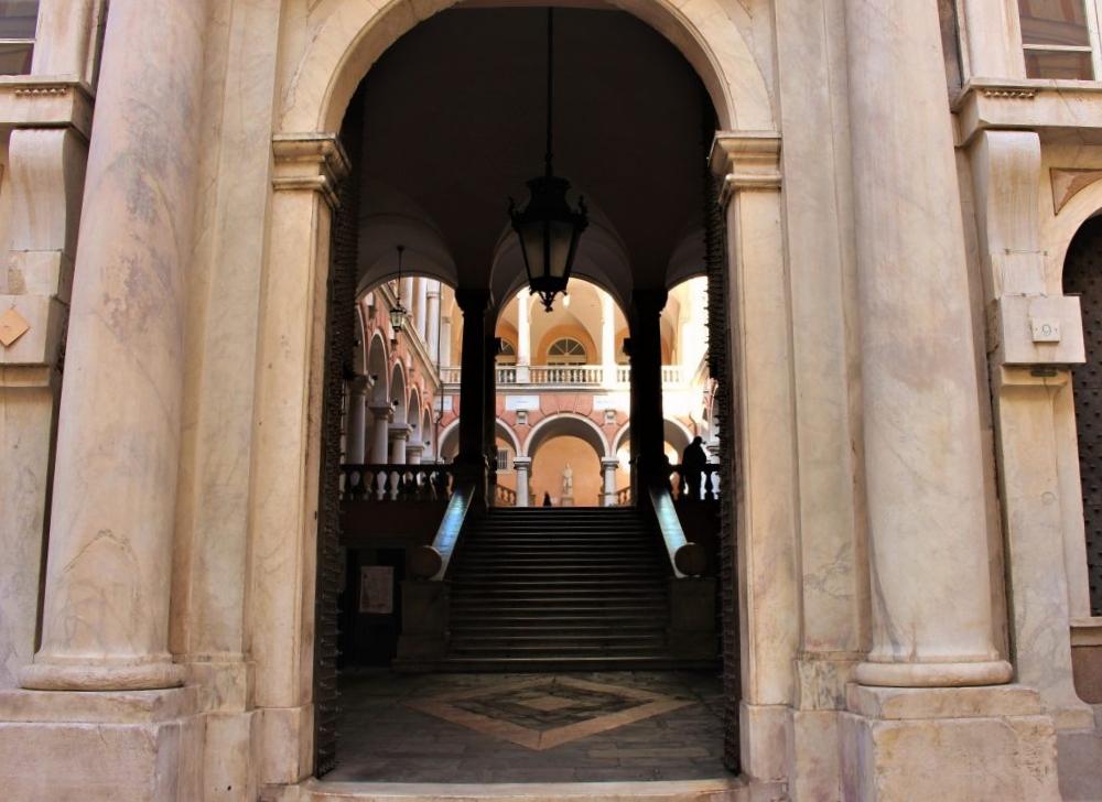 Palazzi dei Rolli Genoa, entrance