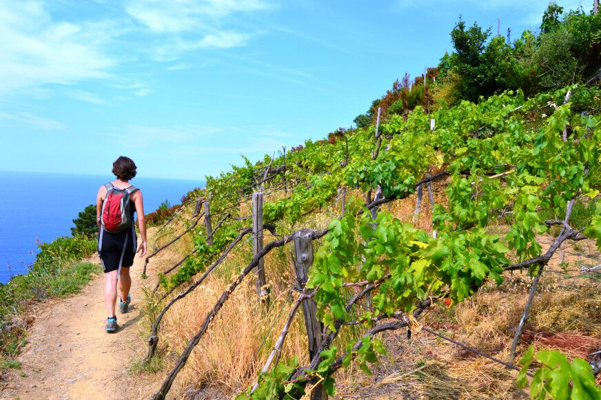 hiking liguria nature