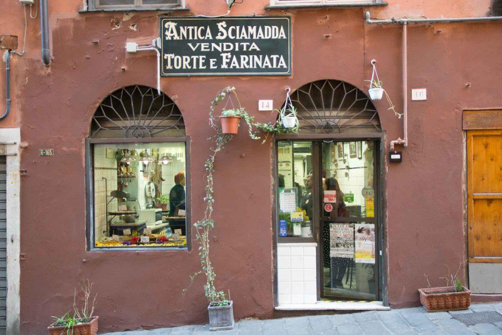Street food in Genoa