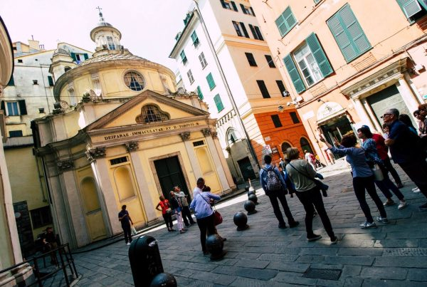 Genoa historical town discovery