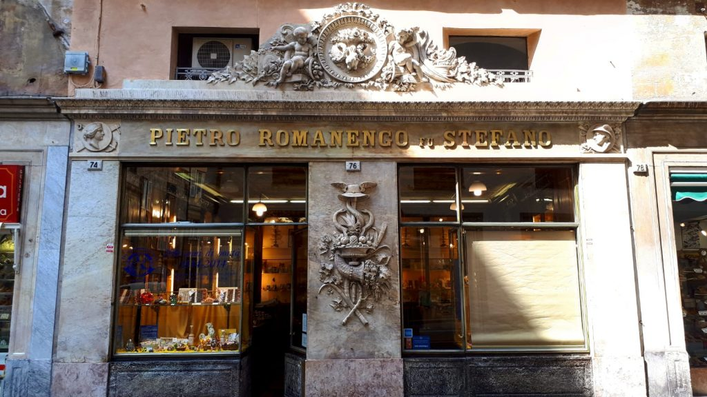 Romanengo most ancient pastry in Genoa