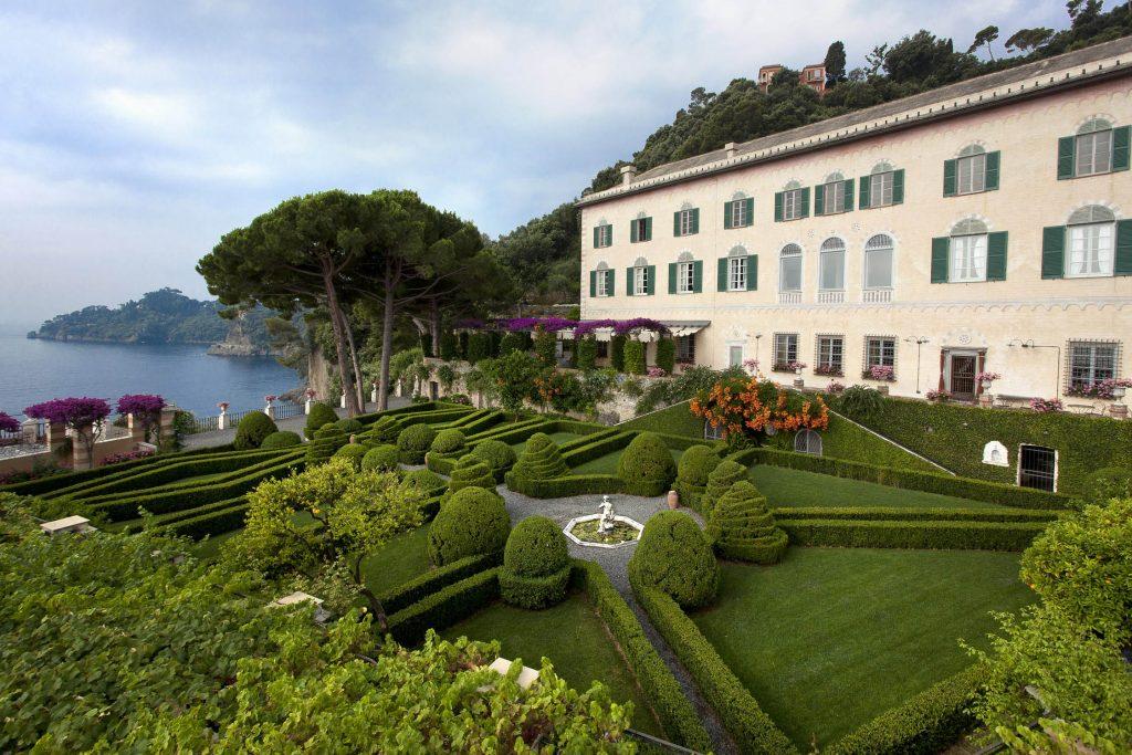 "La Cervara, on the Portofino promontory - Credit ""Ligurian Gardens"""
