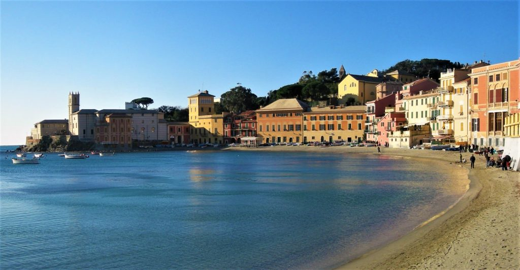 Sestri Levante beach Liguria