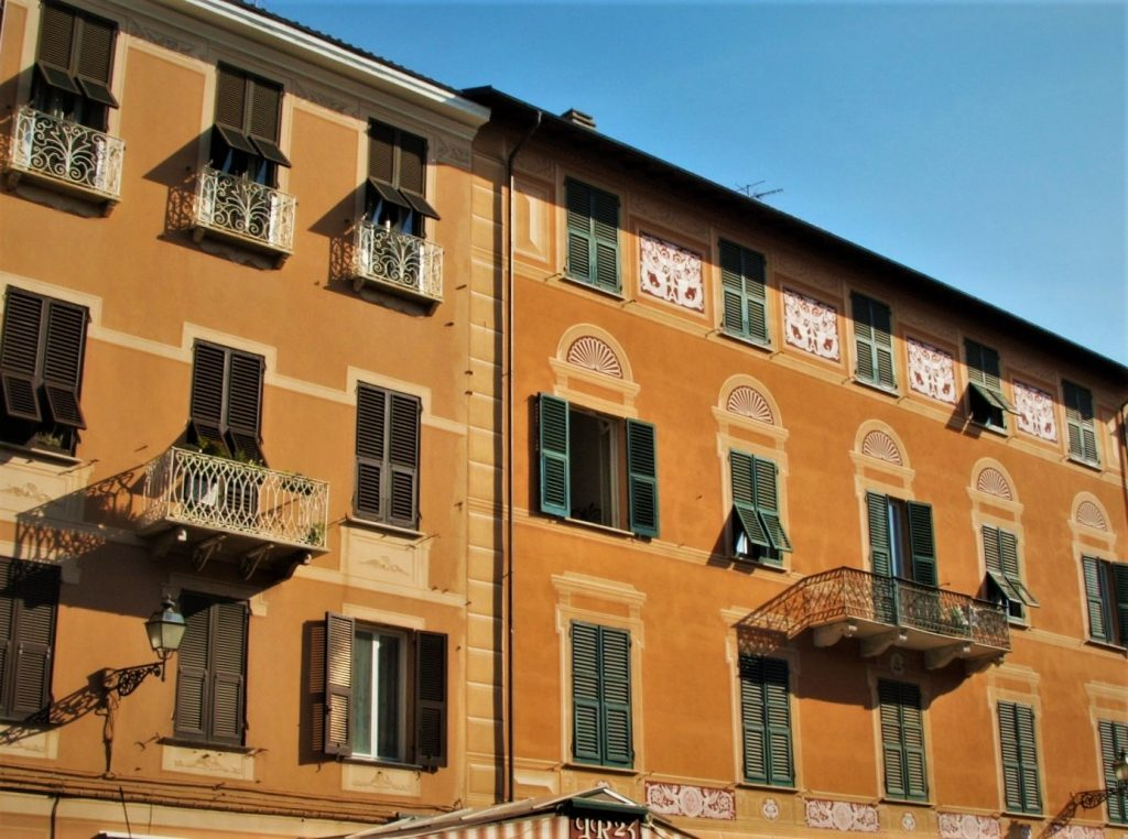 Historical building in Sestri Levante Liguria