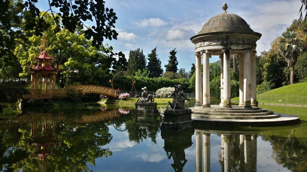 """Park of Villa Pallavicini in Genoa - Credit """"Ligurian Gardens"""""""