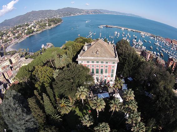 "Villa Durazzo in Santa Margherita Ligure - Credit ""Ligurian Gardens"""