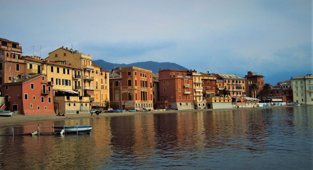 Sestri Levante, quiet village in Liguria
