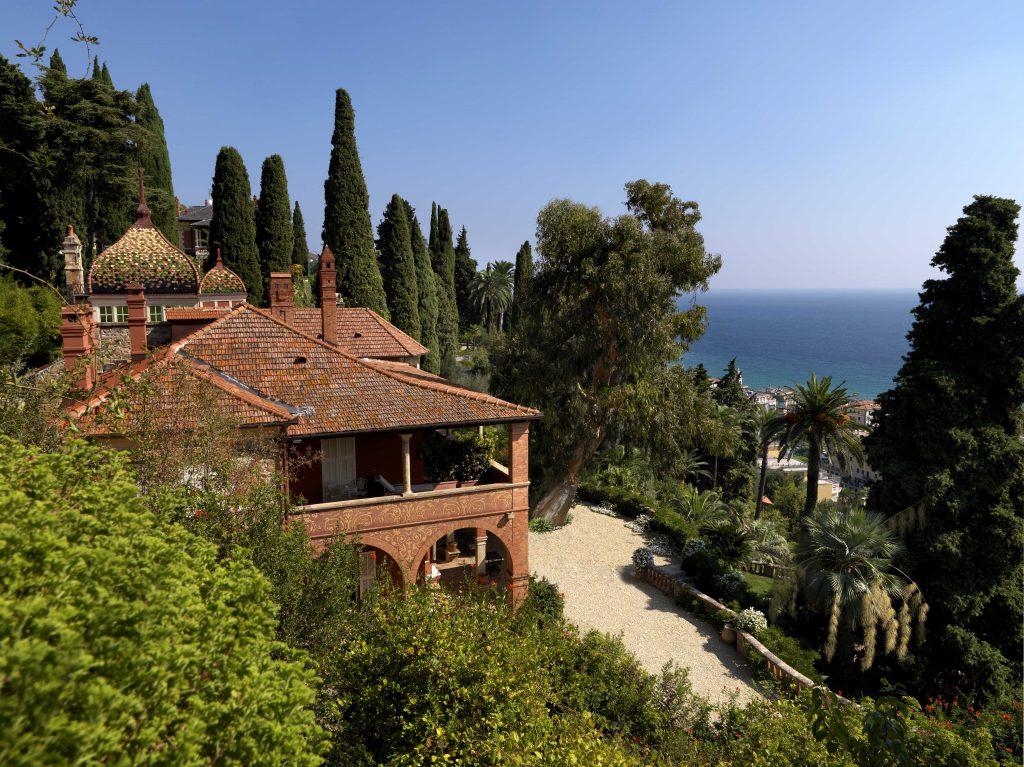 "Gardens of Villa Pergola - Credit ""Ligurian Gardens"""