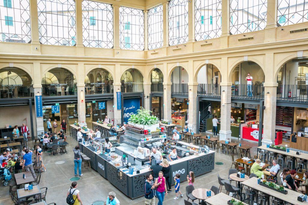 MOG Genoa: Market and street food