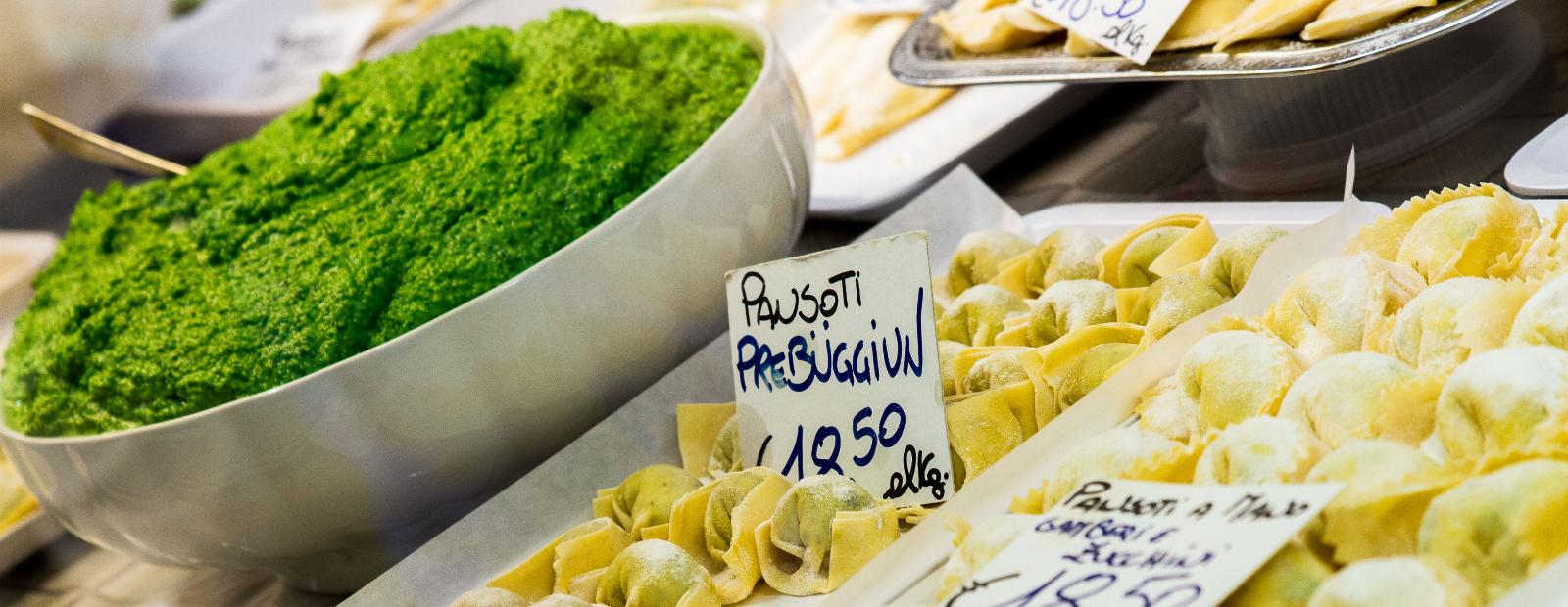 Food market in Genoa: Let's discover MOG