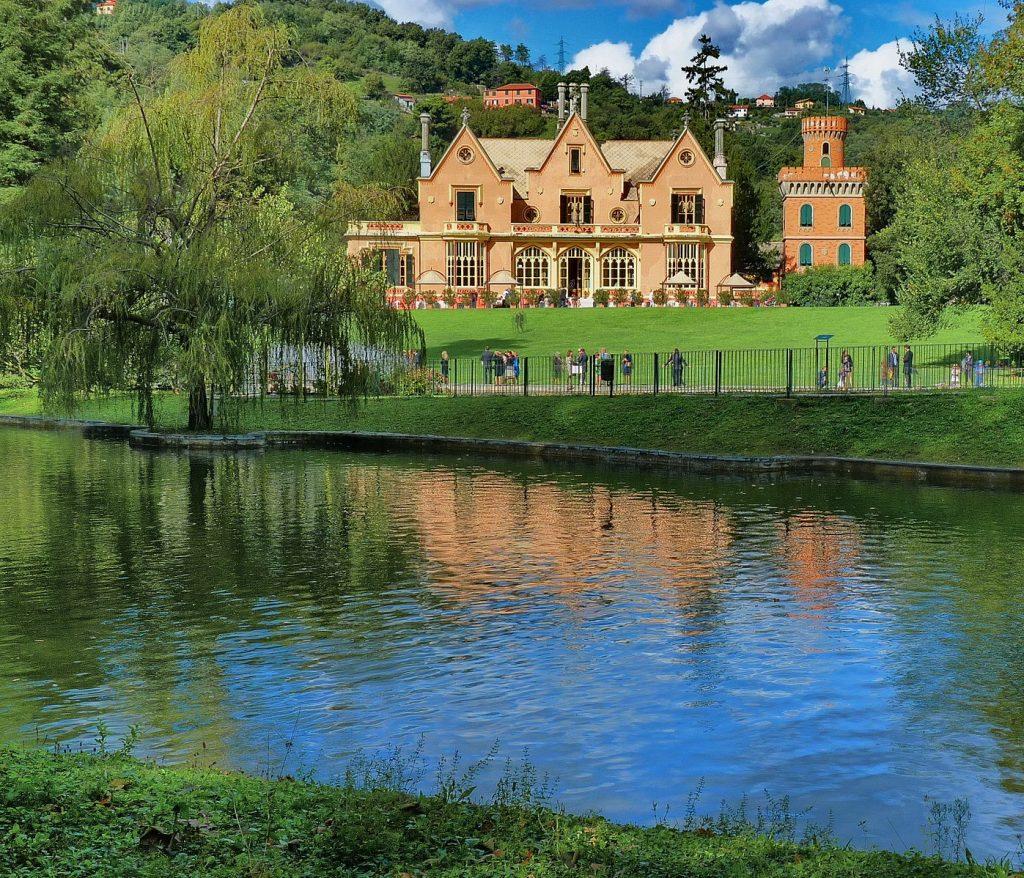 """Villa Serra di Comago, in the Riviera di Levante - Credit """"Ligurian Gardens"""""""