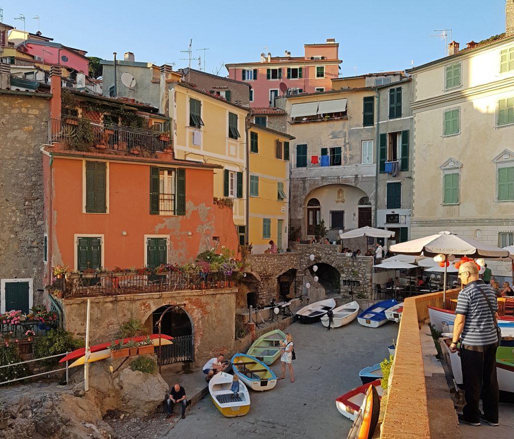 Tellaro fishing village near Cinque Terre