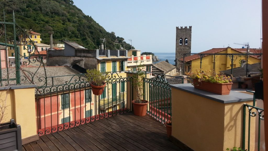 Cinque Terre, one of the little villages