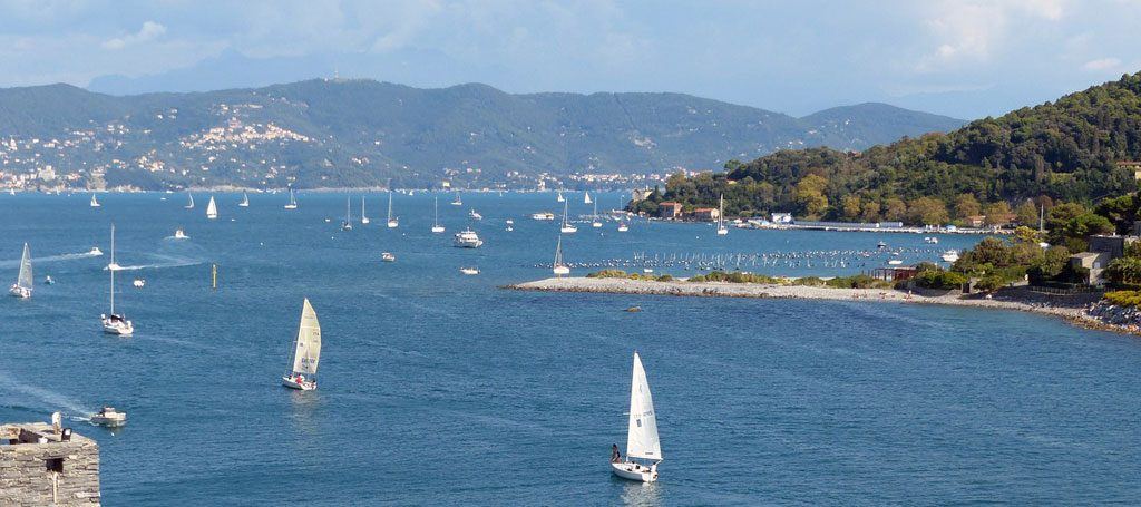 View from Palmaria Island