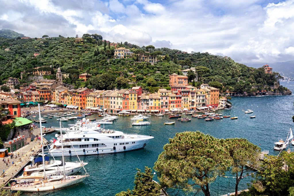 Portofino Colorful Houses - Photo by Giulia Cimarosti